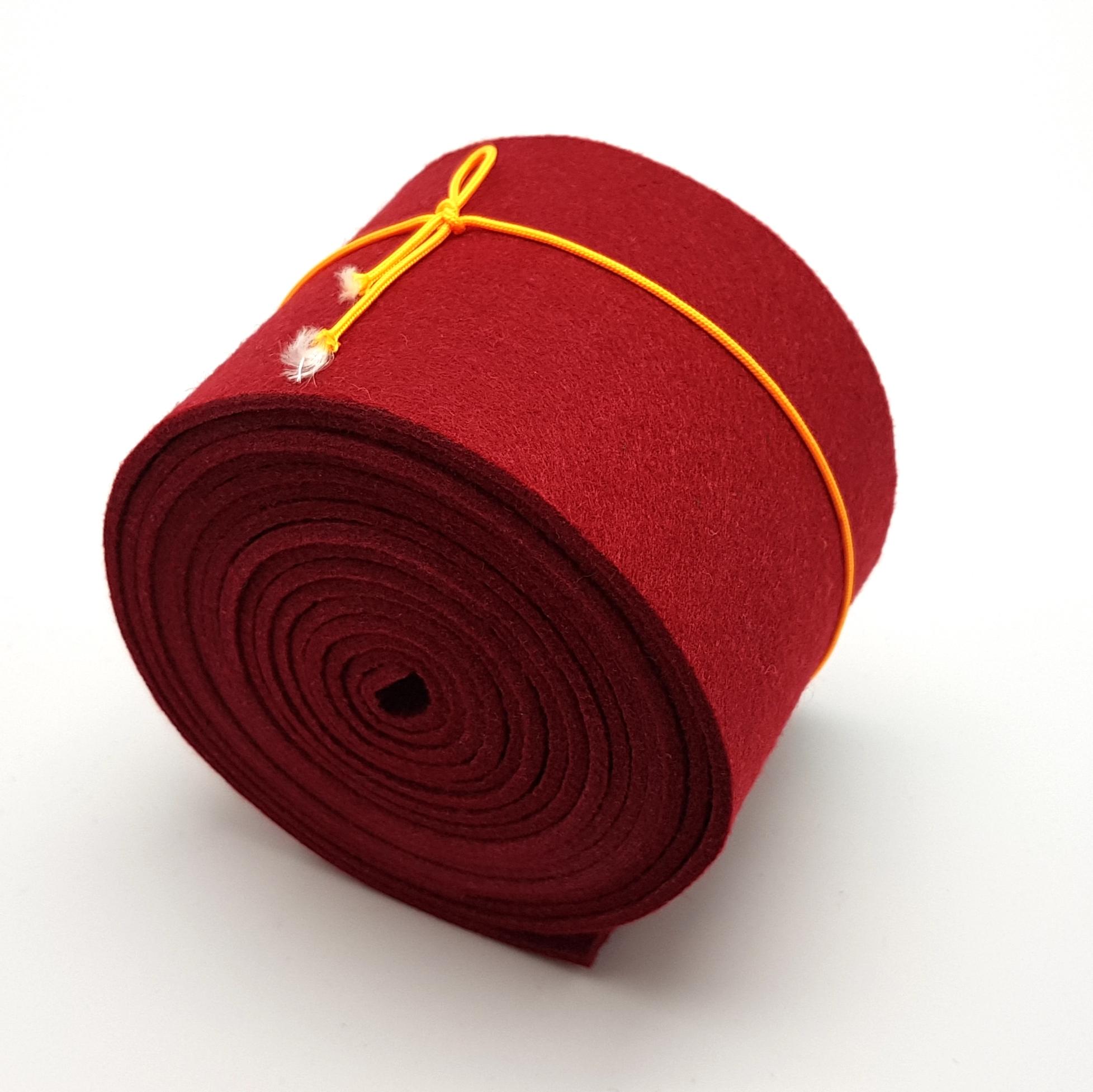 8-cm-rolle-bordeaux - Handgemachte individualisierbare Taschen, Körbe, Tischsets, Dekoartikel und mehr auf fideko.de der Onlineshop seit 2011