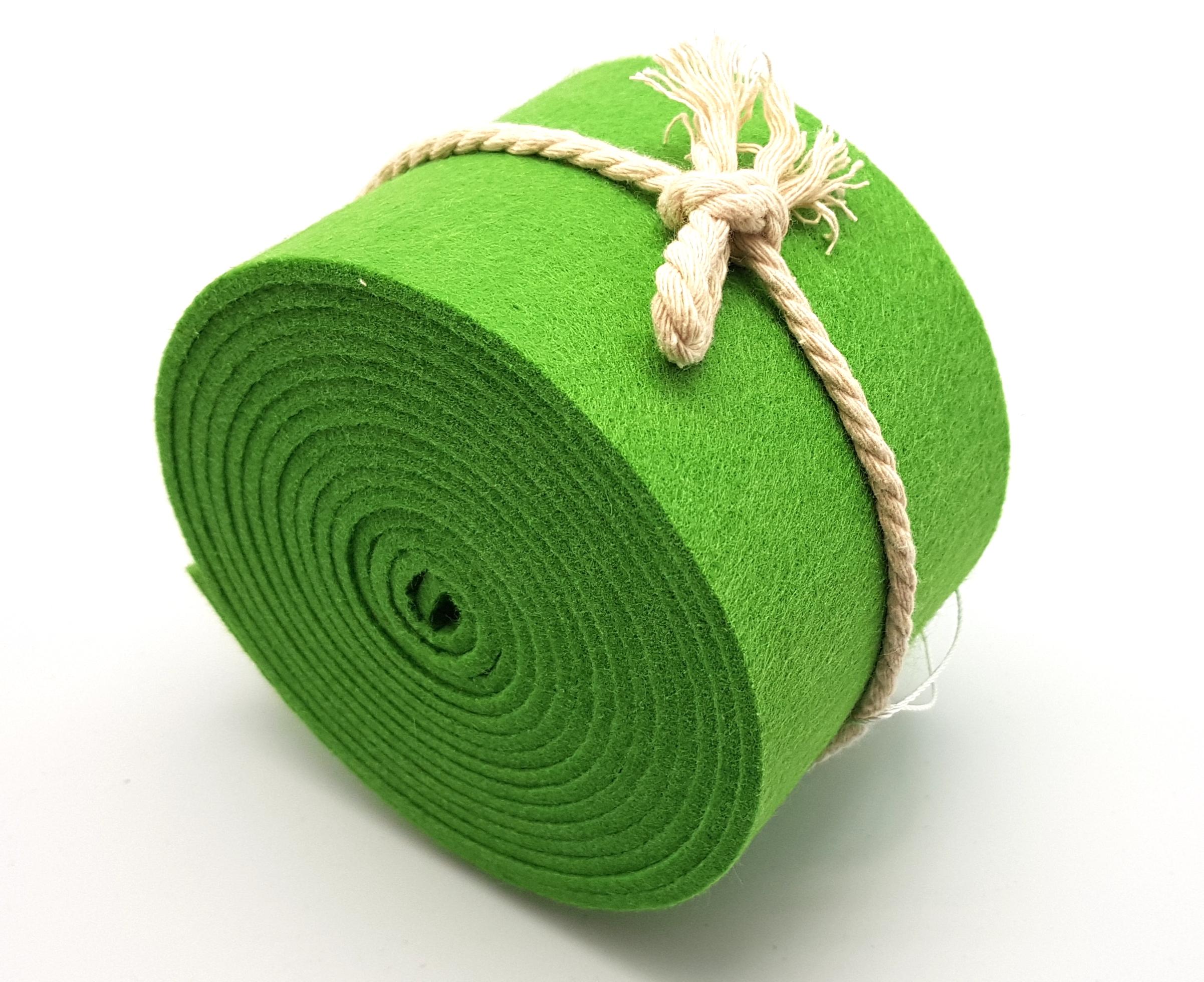 8-cm-rolle-grasgrün - Handgemachte individualisierbare Taschen, Körbe, Tischsets, Dekoartikel und mehr auf fideko.de der Onlineshop seit 2011