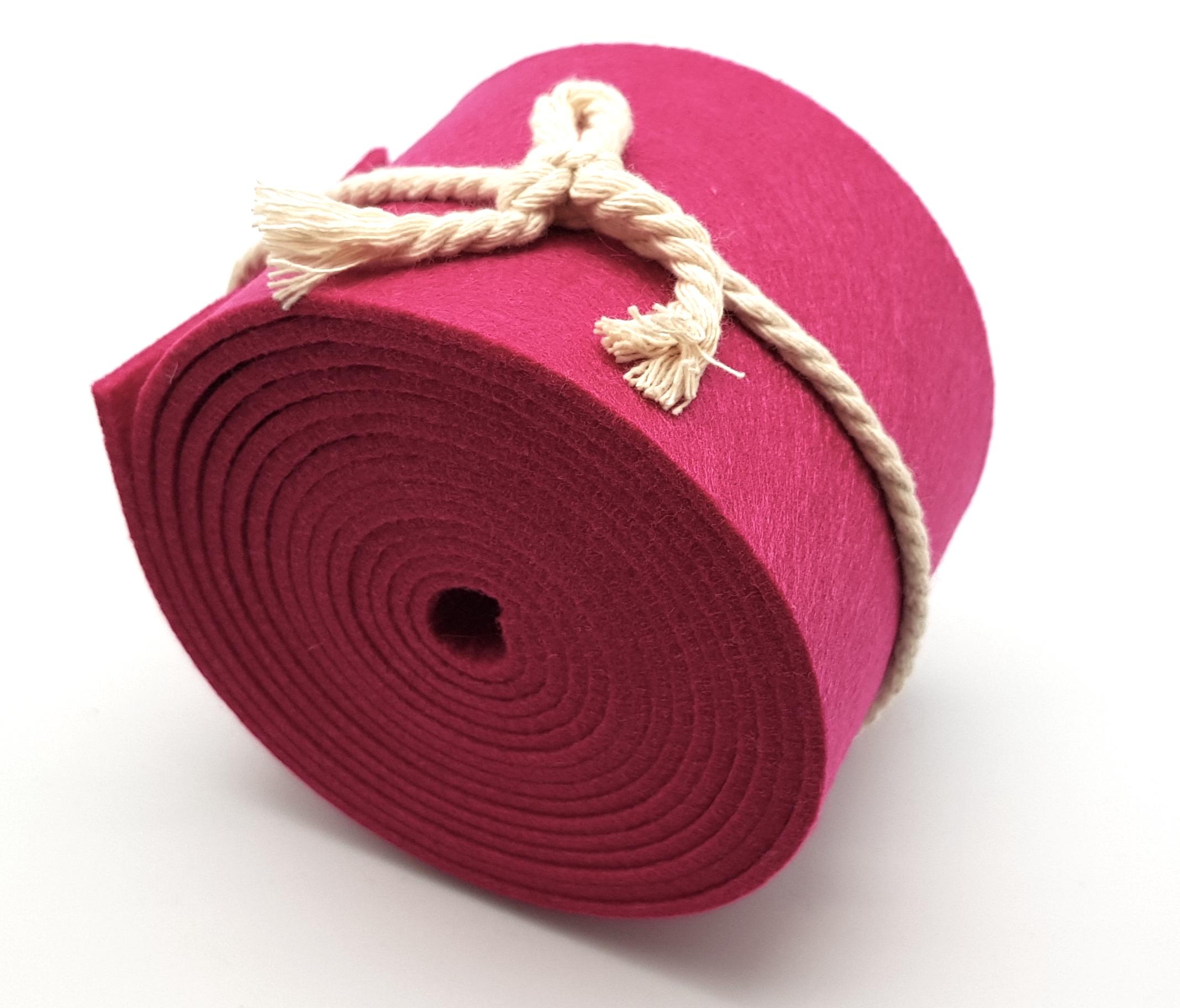 8-cm-rolle-pink - Handgemachte individualisierbare Taschen, Körbe, Tischsets, Dekoartikel und mehr auf fideko.de der Onlineshop seit 2011