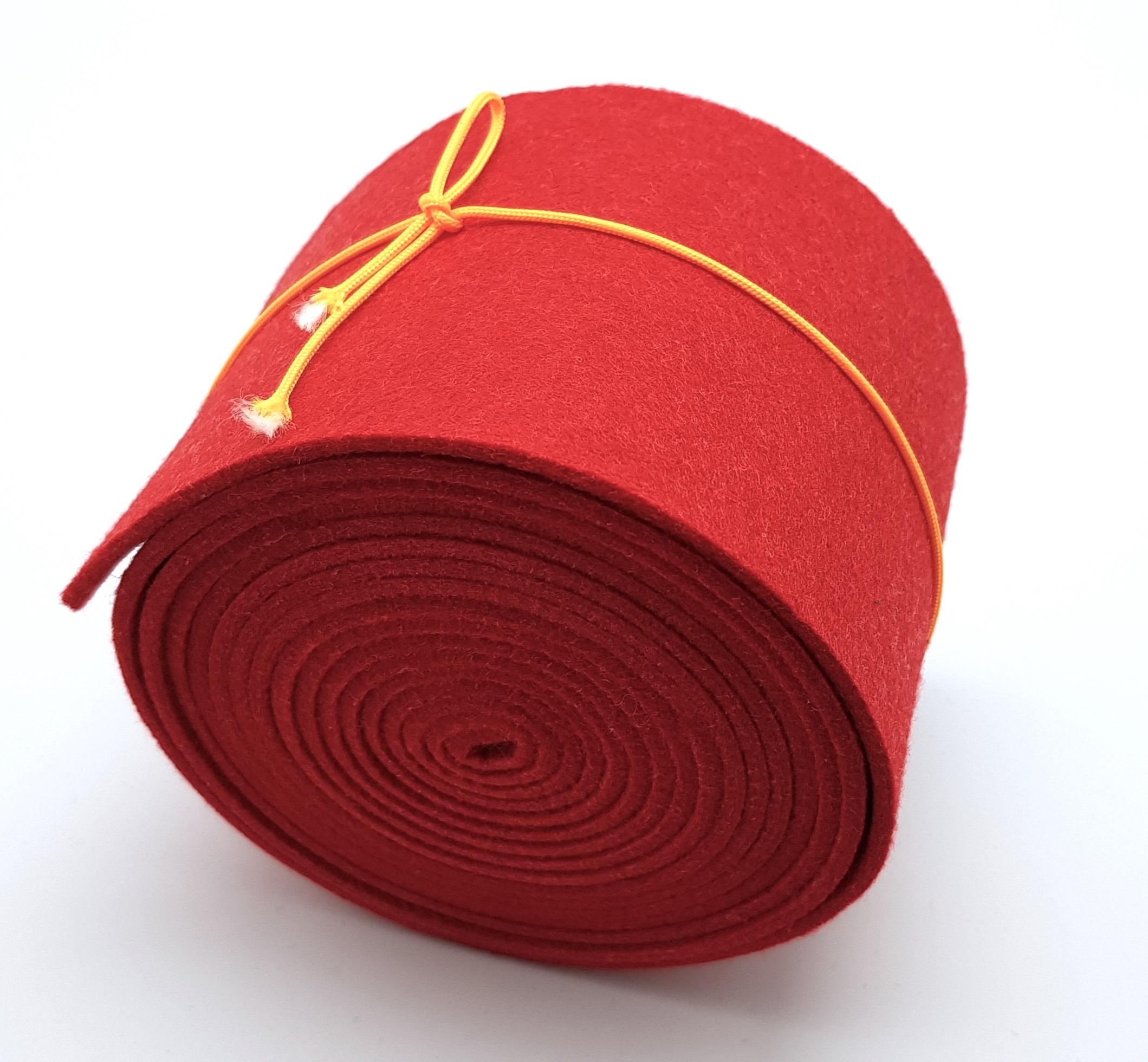 8-cm-rolle-rot - Handgemachte individualisierbare Taschen, Körbe, Tischsets, Dekoartikel und mehr auf fideko.de der Onlineshop seit 2011