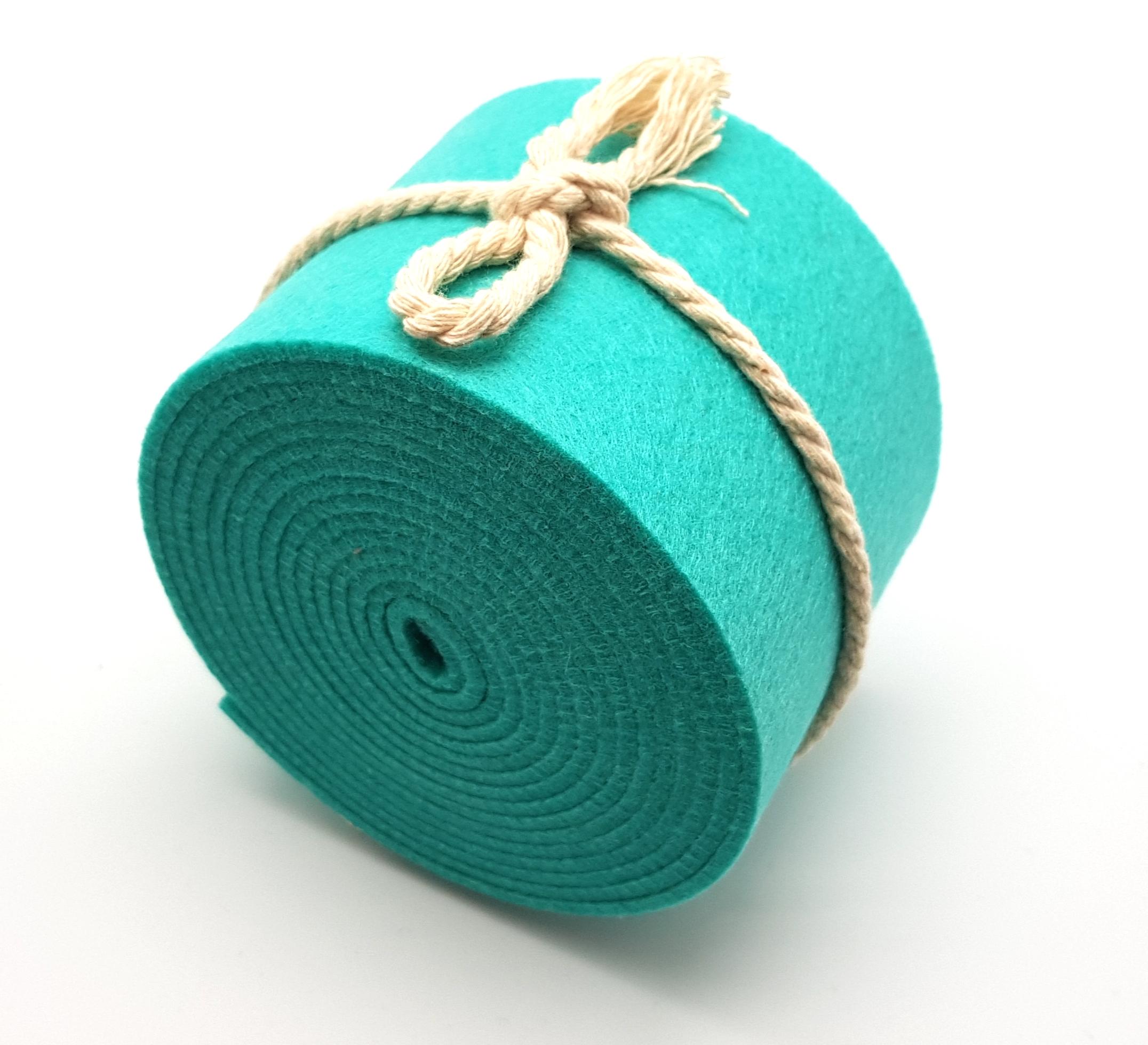 8-cm-rolle-türkis - Handgemachte individualisierbare Taschen, Körbe, Tischsets, Dekoartikel und mehr auf fideko.de der Onlineshop seit 2011