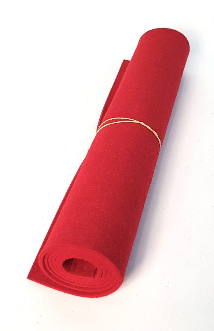 Rotes Filz - Handgemachte individualisierbare Taschen, Körbe, Tischsets, Dekoartikel und mehr auf fideko.de der Onlineshop seit 2011