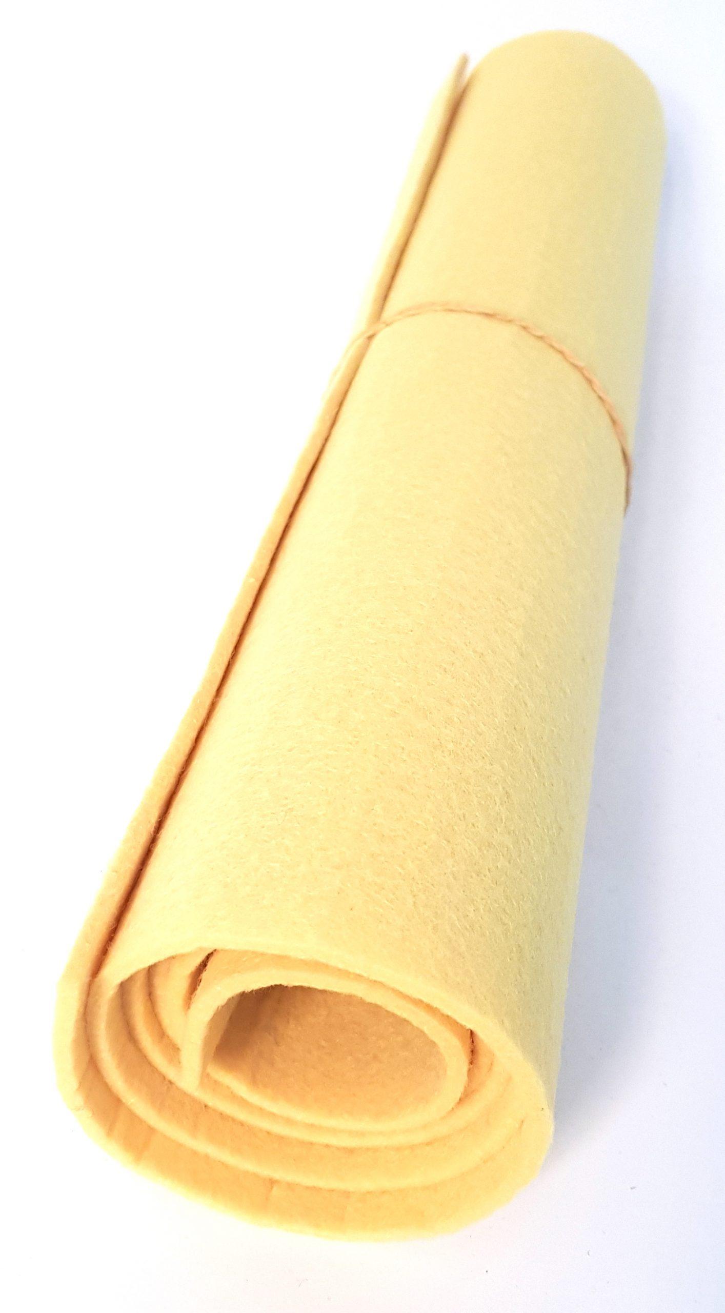 Gelbes Filz - Handgemachte individualisierbare Taschen, Körbe, Tischsets, Dekoartikel und mehr auf fideko.de der Onlineshop seit 2011