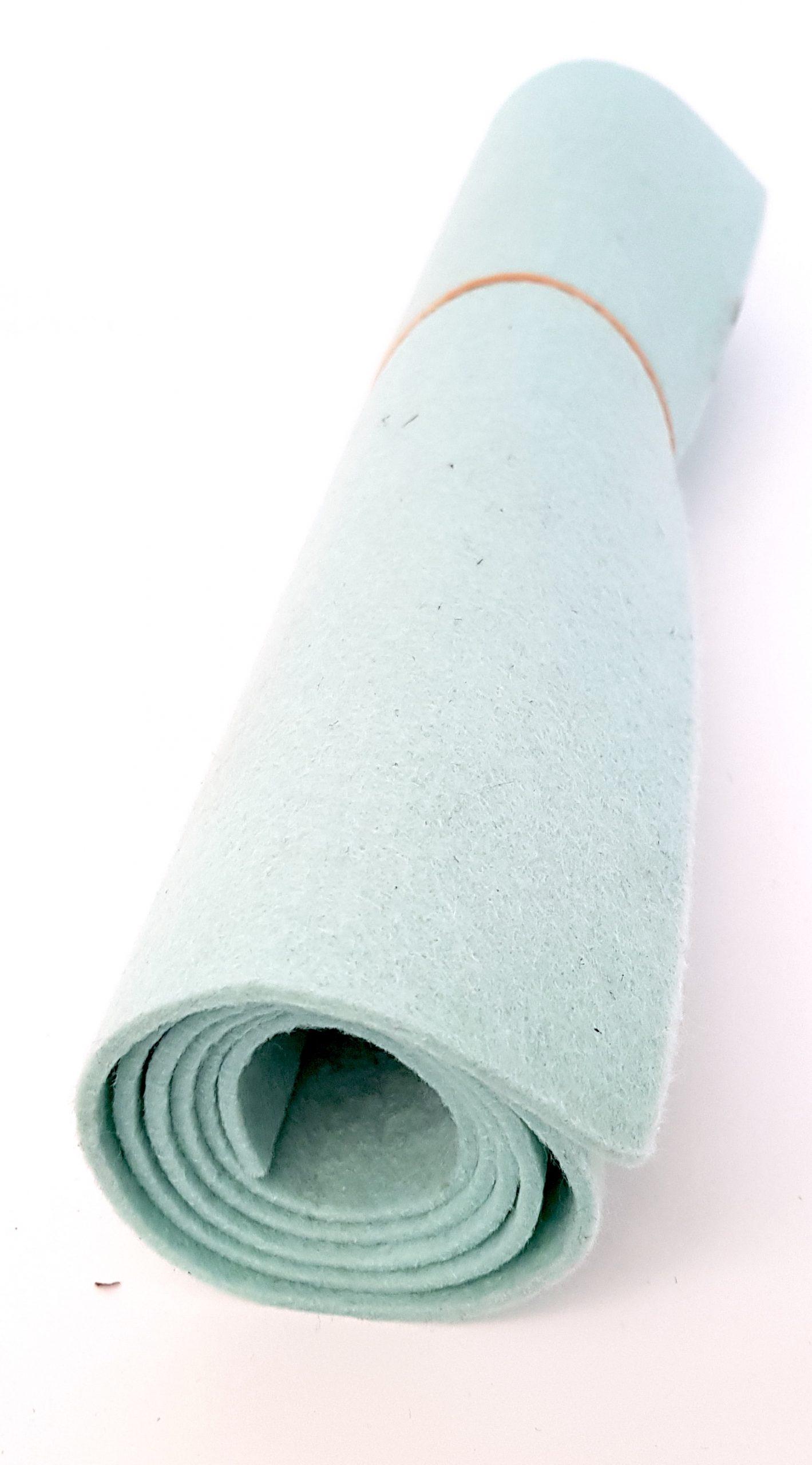 Mintgrünes Filz - Handgemachte individualisierbare Taschen, Körbe, Tischsets, Dekoartikel und mehr auf fideko.de der Onlineshop seit 2011