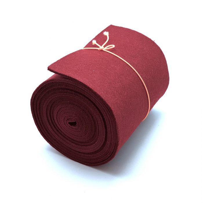 15-cm-rolle-bordeaux - Handgemachte individualisierbare Taschen, Körbe, Tischsets, Dekoartikel und mehr auf fideko.de der Onlineshop seit 2011