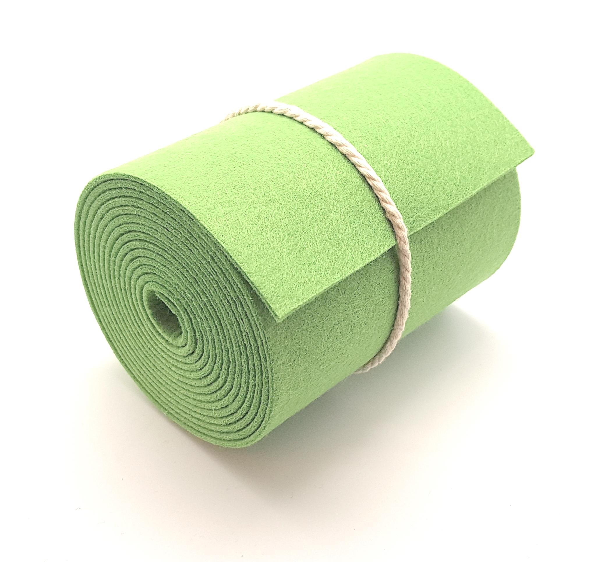 15-cm-rolle-grasgrün - Handgemachte individualisierbare Taschen, Körbe, Tischsets, Dekoartikel und mehr auf fideko.de der Onlineshop seit 2011