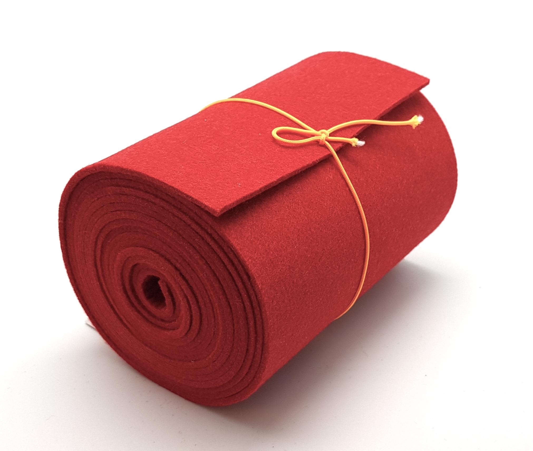 15-cm-rolle-rot - Handgemachte individualisierbare Taschen, Körbe, Tischsets, Dekoartikel und mehr auf fideko.de der Onlineshop seit 2011