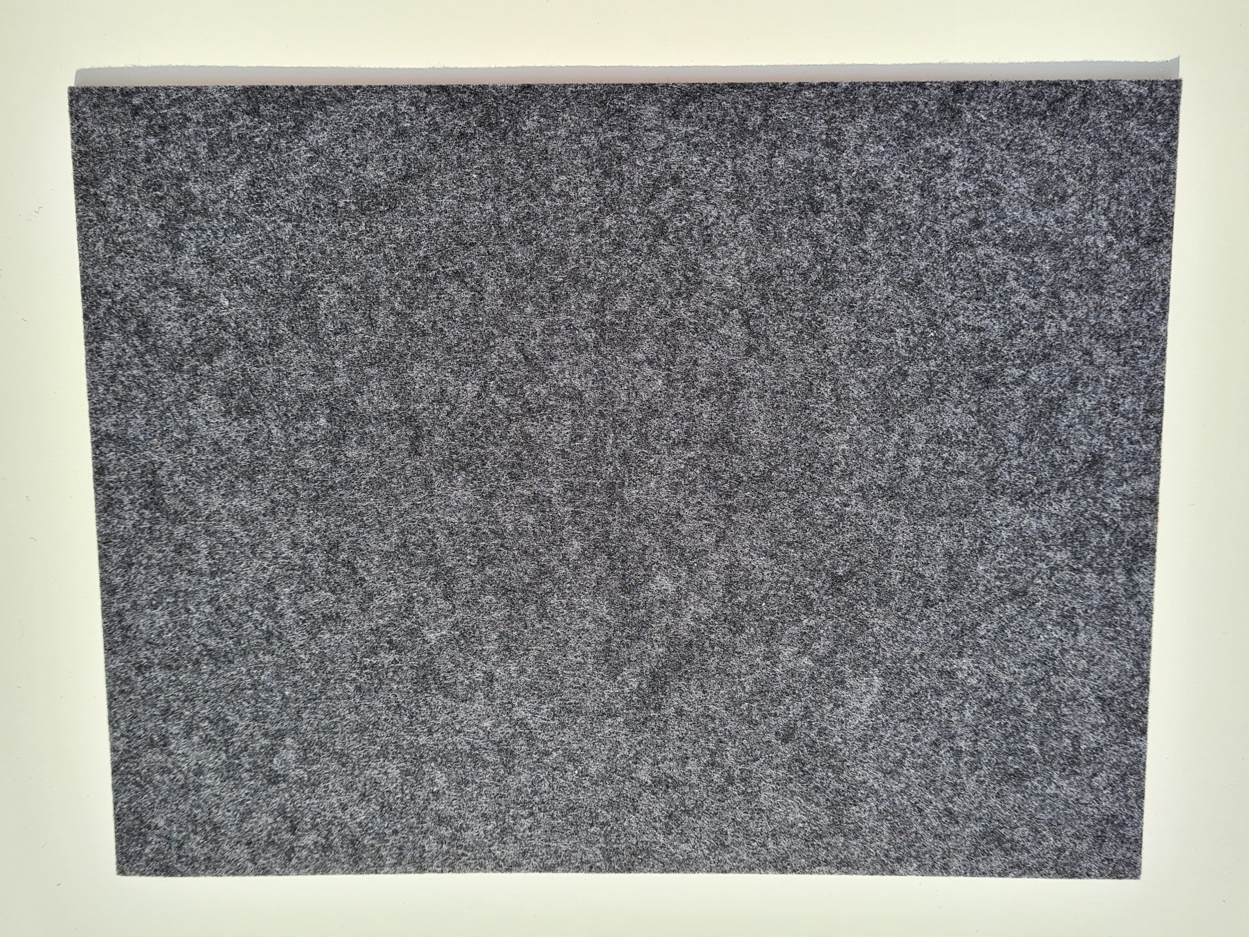Schwarzer Filz-Untersetzter quadratisch - Handgemachte individualisierbare Taschen, Körbe, Tischsets, Dekoartikel und mehr auf fideko.de der Onlineshop seit 2011