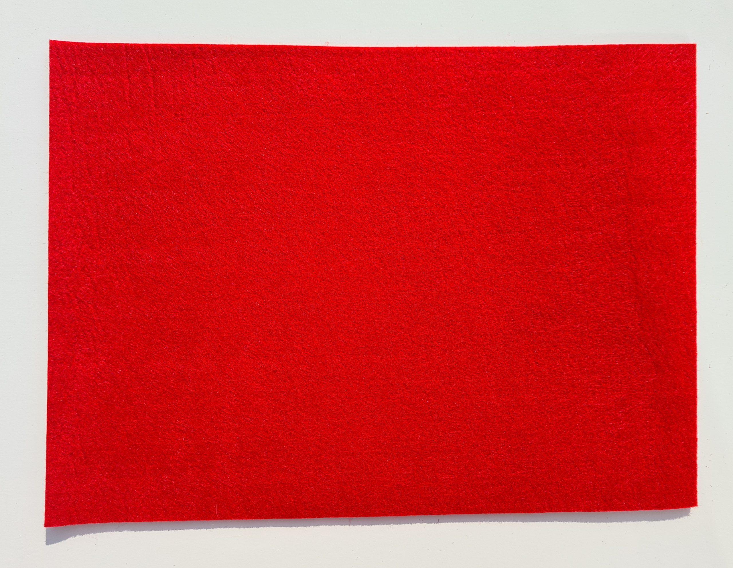 Roter Filz-Untersetzter quadratisch - Handgemachte individualisierbare Taschen, Körbe, Tischsets, Dekoartikel und mehr auf fideko.de der Onlineshop seit 2011